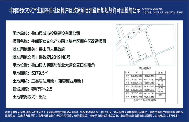 2020-008牛郎织女产业园辛集社区棚户区改造项目建设用地规划许可证批前公示.jpg